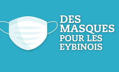 La distribution de masques grand public continue pendant l'été !